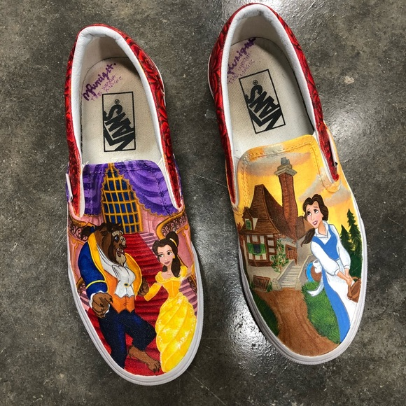 Custom Beauty And The Beast Shoes Online Hotsell, UP TO 59% OFF
